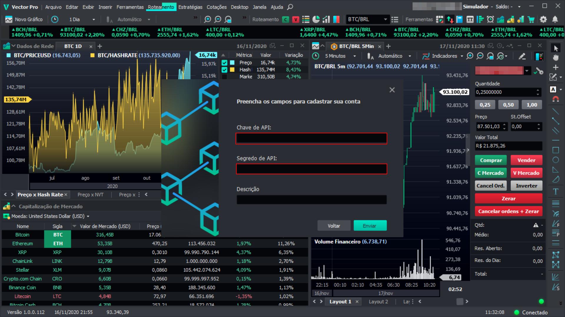 plataforma trade bitcoin)